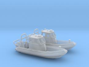 RIB Zodiac hurricane. 1:200 Scale  in Smooth Fine Detail Plastic