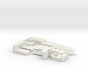 Mk1 - Large Caliper - Yard/Meter Stick Attachment in White Natural Versatile Plastic