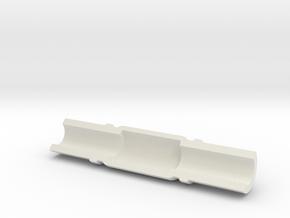 Captain Action Jet Pack Lower Cover - Retro in White Natural Versatile Plastic