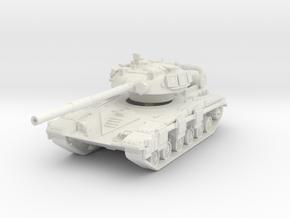 T-64 R 1/72 in White Natural Versatile Plastic