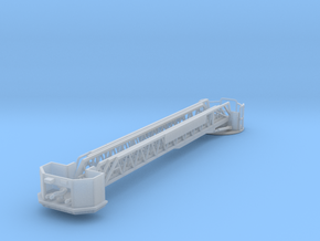 1/87 E-One(ish) style Rear Mount Platform Boom  in Smooth Fine Detail Plastic