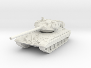 T-64 R (late) 1/87 in White Natural Versatile Plastic