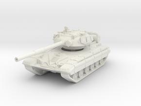 T-64 R (late) 1/72 in White Natural Versatile Plastic