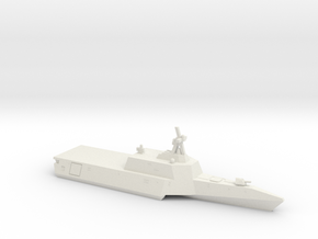 Independence-class LCS, 1/1250 in White Natural Versatile Plastic