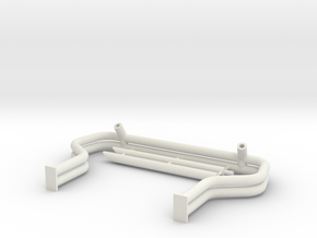 AWESOME KONG ROLL BAR - 1/25 in White Natural Versatile Plastic