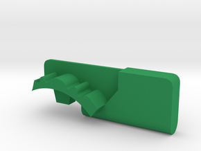Warthog throttle part - Airbus in Green Processed Versatile Plastic