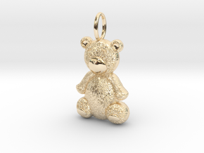 Teddy Bear in 14K Yellow Gold