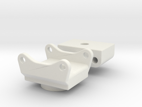 Rotowechsler QC80 / roto quick coupler in White Natural Versatile Plastic: 1:50