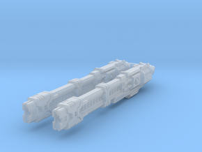 Heavy Rail Rifles in Smooth Fine Detail Plastic