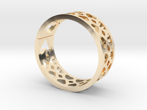 Heart Band in 14K Yellow Gold