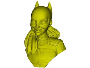 1/9 scale Batgirl bust in Smooth Fine Detail Plastic