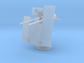 1/24 DKM Double 20mm C/30 Flak w. Shield in Smooth Fine Detail Plastic
