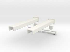 Printle Thing Car lift 02 - 1/64 in White Natural Versatile Plastic