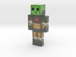 TomUrban   Minecraft toy in Glossy Full Color Sandstone