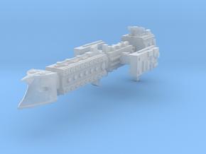 Scimitar Class Escort Ship [modular] in Smooth Fine Detail Plastic