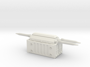 Electrical Transformer 1/64 in White Natural Versatile Plastic