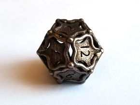 D12 Balanced - Snakes in Polished Bronze Steel