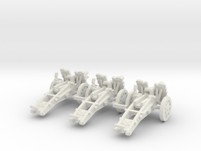 1/160 sIG33 cannon in White Natural Versatile Plastic