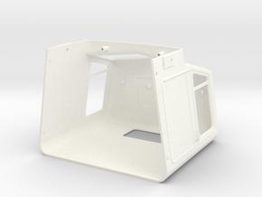THM 80.700001 Cab Peterbilt 281 in White Processed Versatile Plastic