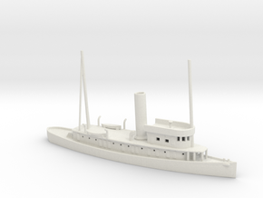 1/600 Scale USS Genesee AT-55 170 ft Tug Boat in White Natural Versatile Plastic