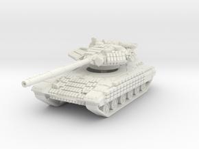 T-64 BV 1/87 in White Natural Versatile Plastic