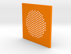 Frekvens Speaker Cover in Orange Processed Versatile Plastic