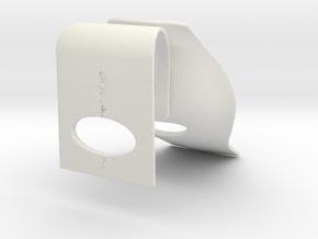 Miniature Dream Chair - Tadao Ando in White Natural Versatile Plastic: 1:12