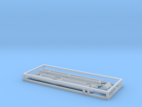 N Scale Intermountain SD45-2 Underbody Frame Kit in Smooth Fine Detail Plastic