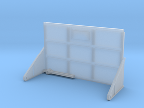 1/64 silage box rear door  in Smooth Fine Detail Plastic