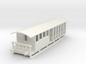 o-100-corringham-toastrack-composite-coach in White Natural Versatile Plastic