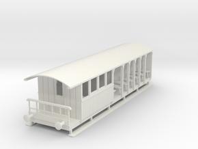 o-43-corringham-toastrack-composite-coach in White Natural Versatile Plastic