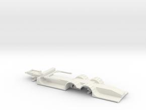 000623 3a Forstmaschinentransporter in White Natural Versatile Plastic: 1:87 - HO