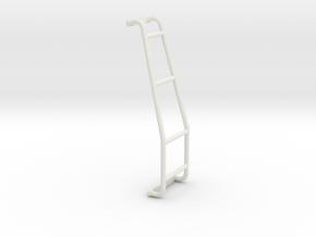 Ladder Loops Model Nissan Patrol in White Natural Versatile Plastic