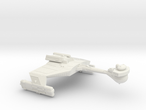 3125 Scale Klingon D5LK War Cruiser Leader WEM in White Natural Versatile Plastic