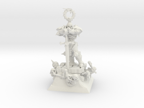 Character Series: Lich Lord in White Natural Versatile Plastic