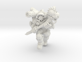 Character Series: Chaos Astronaut Charging in White Natural Versatile Plastic