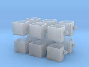 1/96 USN 40mm Tub (Part) Forecastle in Smooth Fine Detail Plastic