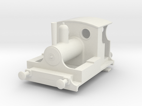b-87-kitson-0-4-0wt-loco in White Natural Versatile Plastic