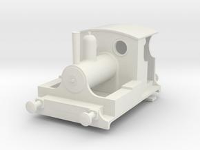 b-76-kitson-0-4-0wt-loco in White Natural Versatile Plastic
