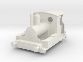 b-32-kitson-0-4-0wt-loco in White Natural Versatile Plastic