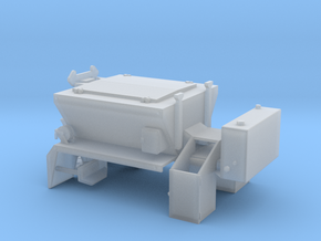 1/87th PB Patcher Asphalt repair truck body in Smooth Fine Detail Plastic