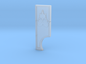 Dwarf God of Smiting Measuring Device in Smooth Fine Detail Plastic