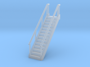 Stairs 1/144 in Smooth Fine Detail Plastic