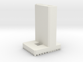 Lever House - New York (1:4000) in White Natural Versatile Plastic