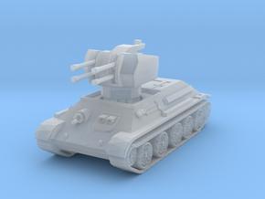 T-34 Flakpanzer 1/220 in Smooth Fine Detail Plastic