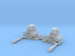 Twinmill Engines in Smoothest Fine Detail Plastic