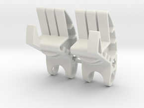 SID_LotT_002 Skyrim: Legend of the Toa Bionicle in White Natural Versatile Plastic