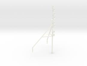 UT 704 bow mast (1:100) in White Processed Versatile Plastic
