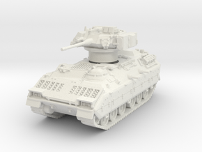 M2A1 Bradley (TOW retracted) 1/76 in White Natural Versatile Plastic