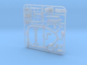 1/12 STROKE Cargo Trike: Frame & Suspension kit in Smooth Fine Detail Plastic